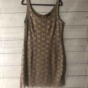 R&M Richards Lace and Sequin Mini Dress 16